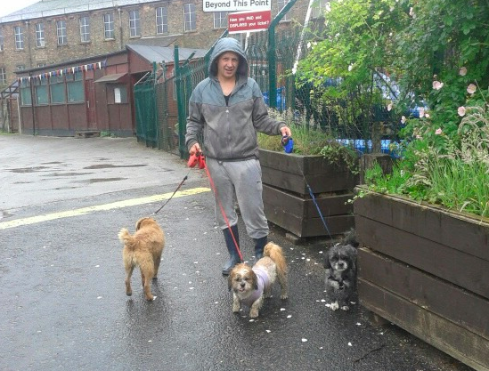me @ etherow with some of my doggies!
