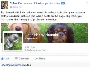 latest WB clients review on our facebook