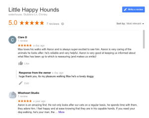 new review huge thank you